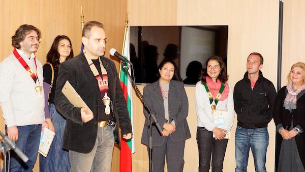 """Асен Йорданов получава наградата за най-добри журналистически материали за 2014 от Фондация """"Биоразнообразие"""""""