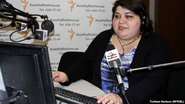 Хадиджа Исмаилова, снимка RFE/RL
