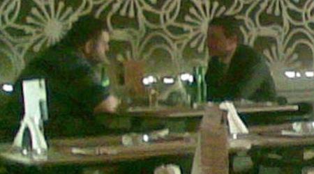 Делян Пеевски и Влади Горанов на кафе. Снимка: Гласове