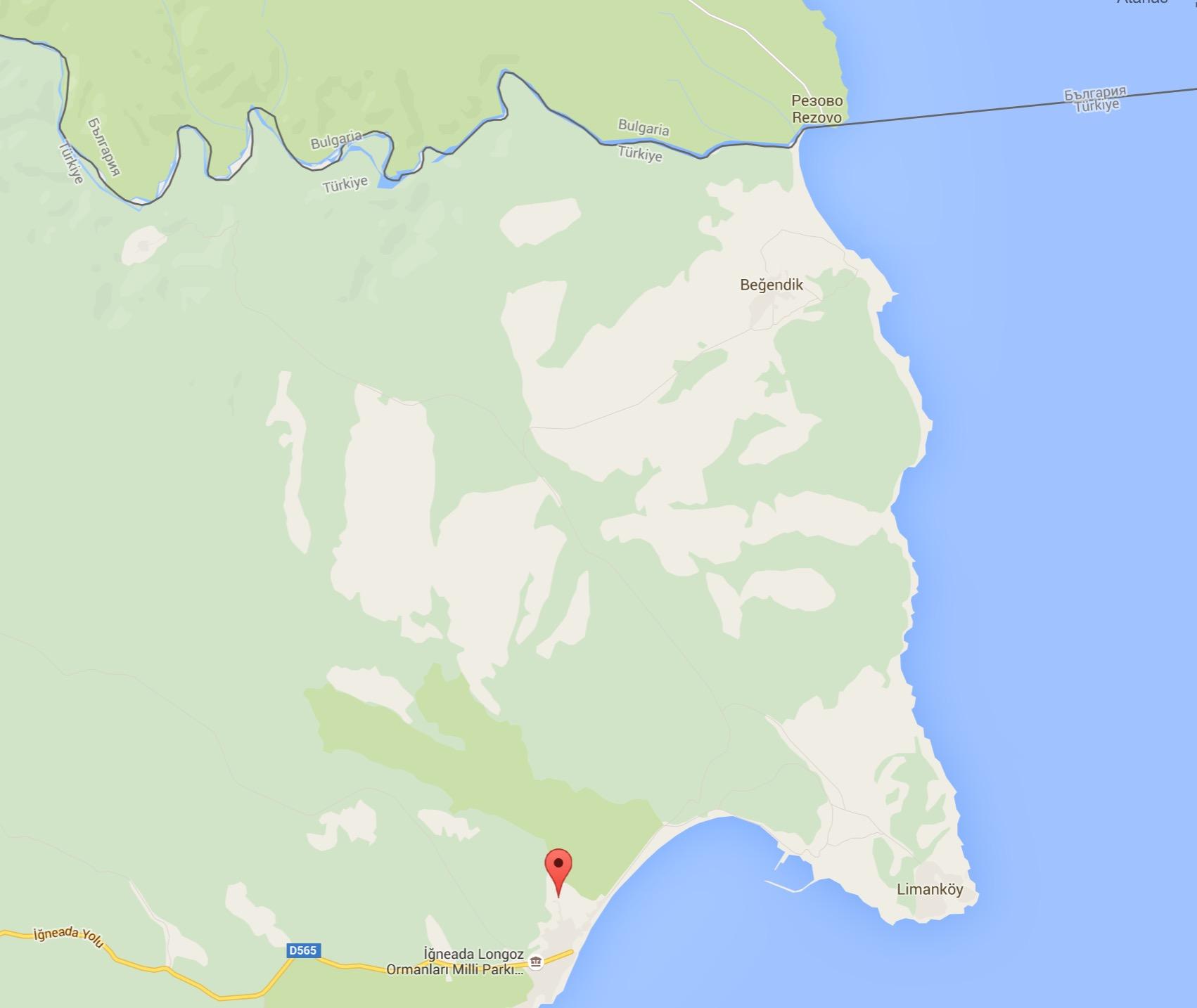Проектът за АЕЦ - Инеада е на няколко километра от България и в сърцето на Черноморска Странджа