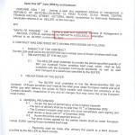 Фиктивен договор за внос на месо между Santa Fe представлявана от Югулеску и Zorgane Asia.