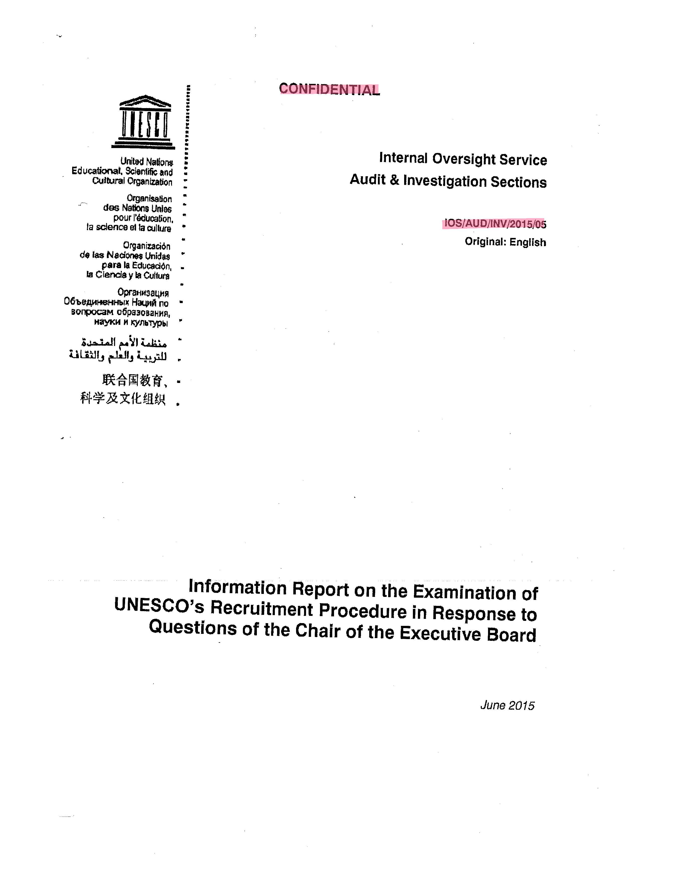 Bulgarian UNESCO Chief Narrowly Escaped Impeachment, Scathing British Report Is Looming