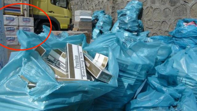 В Турции снова обнаружены контрабандные сигареты «Булгартабак»