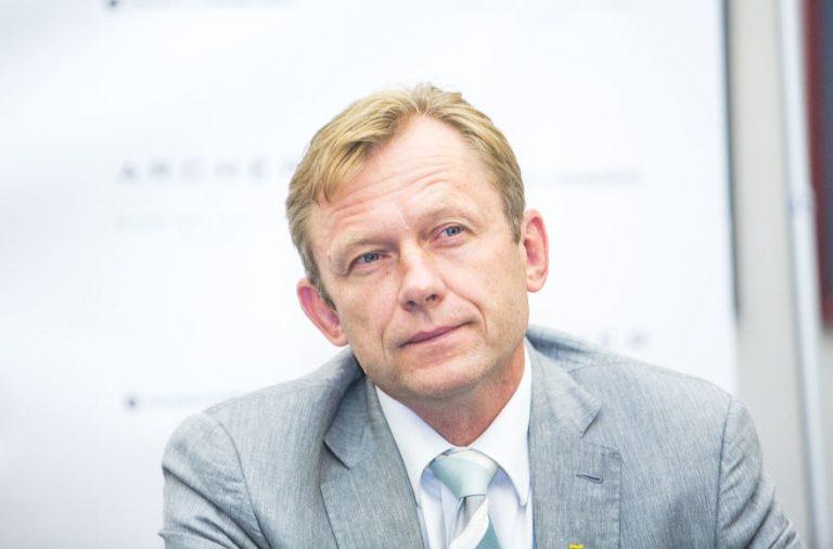 Šarūnas Birutis, Photo credit: Irmantas Gelūnas / 15min.lt