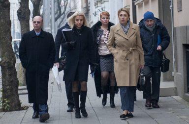 Богдана Желявска, Владимира Янева и Петя Крънчева на заден план. Снимка: БГНЕС