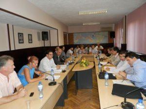 Преговори на община Поморие със съдружниците в Кабланд през 2012 г. Снимка: Бургаснюз