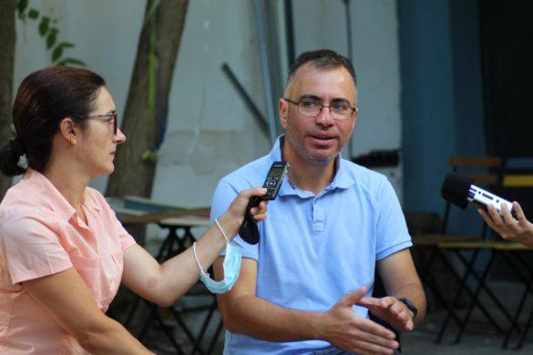 """Фоторепортаж  """"С влизането на България в ЕС свободата на медиите се сви"""""""